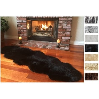 Link to Legacy Faux Sheepskin Double Pelt Shag Runner Rug Similar Items in Shag Rugs