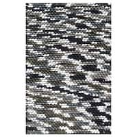 The Rug Market Dot Gray White Area Rug (5' x 8')