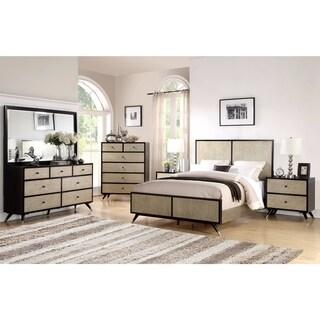 Abbyson Lennon Mid Century 6 Piece Bedroom Set