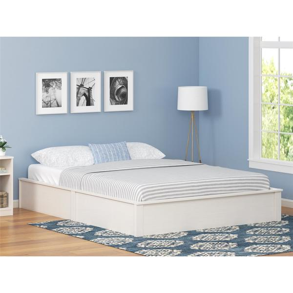 ameriwood home platform full size bed frame free shipping today overstock 23061956. Black Bedroom Furniture Sets. Home Design Ideas