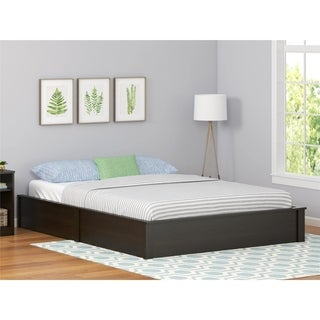 Shop Full Size Red Platform Bed Kit Free Shipping Today