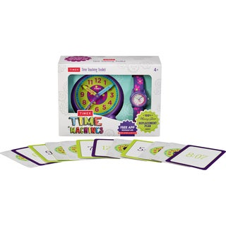Timex Girls TWG014800 Time Machines Floral Time Teaching Toolkit