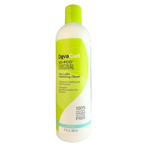 Devacurl No-Poo Original Cleanser 12 Oz