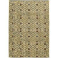 "Style Haven Portico Traditions Blue Indoor/Outdoor Area Rug (9'10 x 12'10) - 9'10"" X 12'10"""