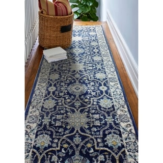 Angelina Blue Area Rug (2'6 x 8')