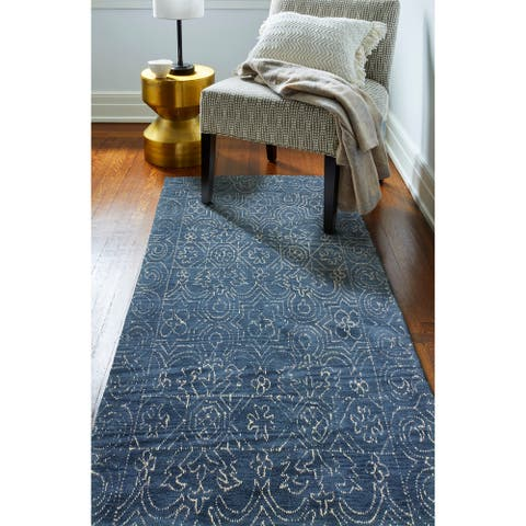 Fenwich Transitional Hand Tufted Area Rug