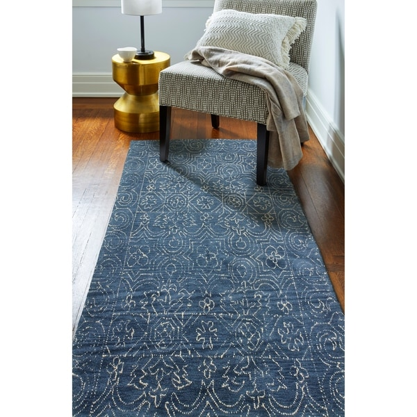 Fenwich Transitional Hand Tufted Area Rug. Opens flyout.