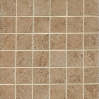 2X2 Mosaic On 13X13In Sheet Taupe (Case of 11)