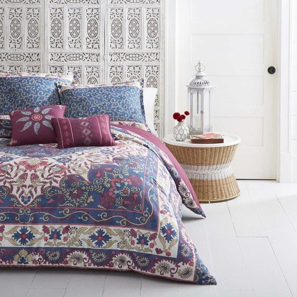 Azalea Skye Blue Zahra Comforter Bonus Set