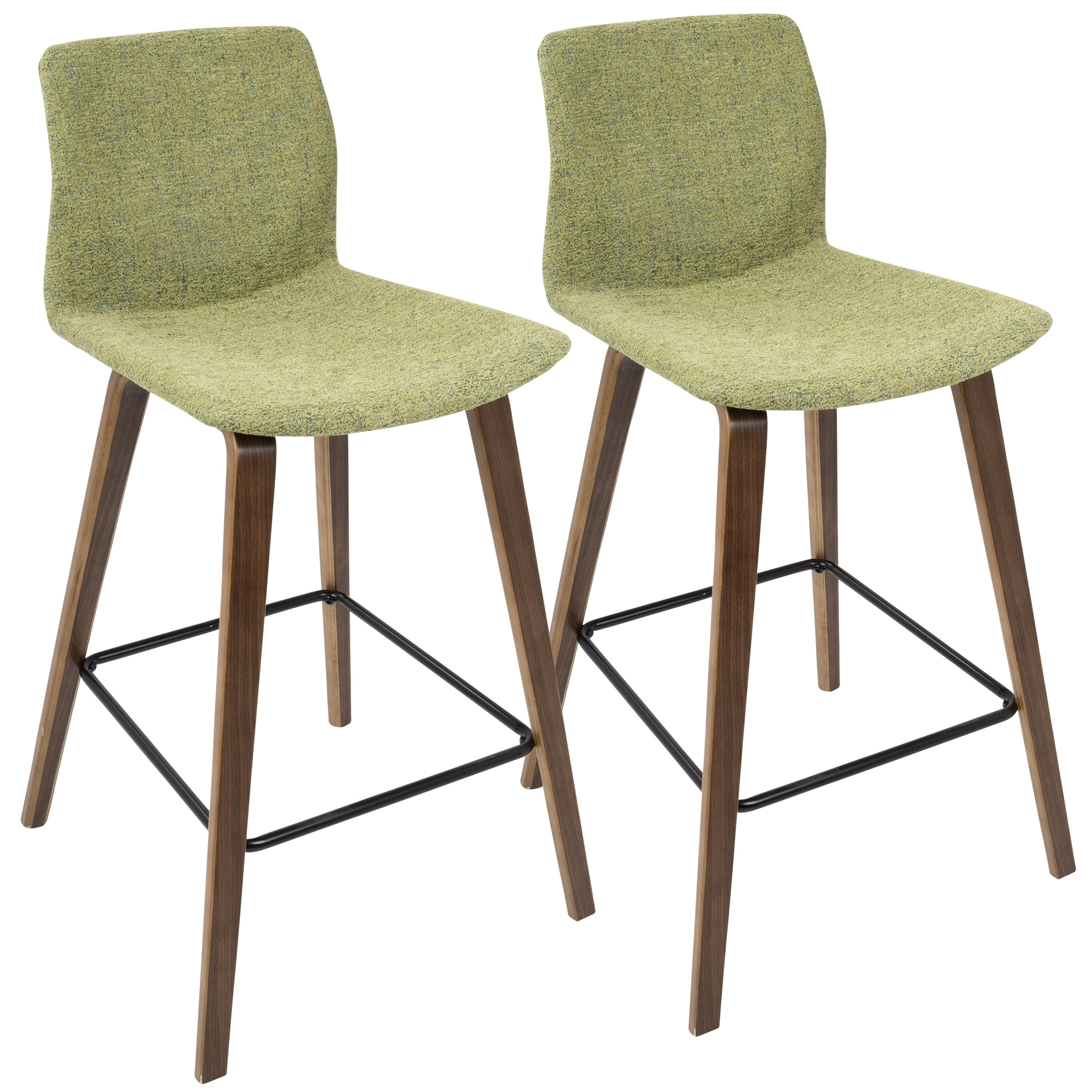Admirable Carson Carrington Domesta Mid Century Modern Counter Stool Set Of 2 N A Squirreltailoven Fun Painted Chair Ideas Images Squirreltailovenorg