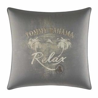 Tommy Bahama Raffia Palms Relax Throw Pllow