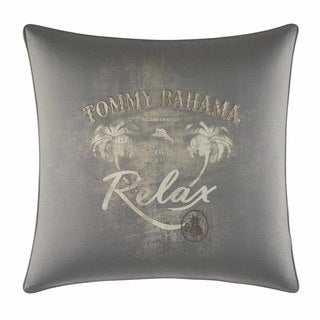 Tommy Bahama Raffia Palms Relax Throw Pllow