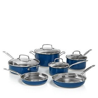 Cuisinart CSS-10MB Stainless Steel Chef's Classic 10-Piece Cookware Set