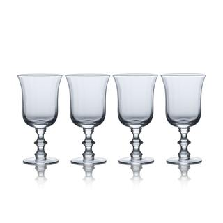Mikasa Bordeaux 15.5 Ounce Goblet Wine Drinking Glass - Set 4