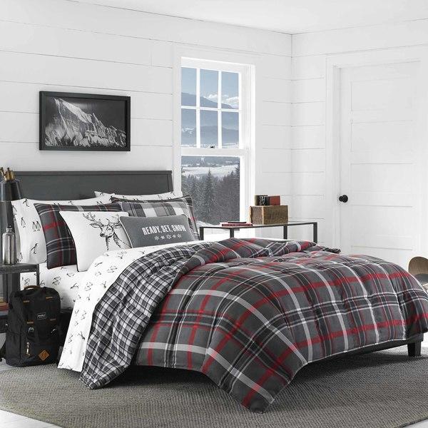Eddie Bauer Willow Plaid Comforter Set