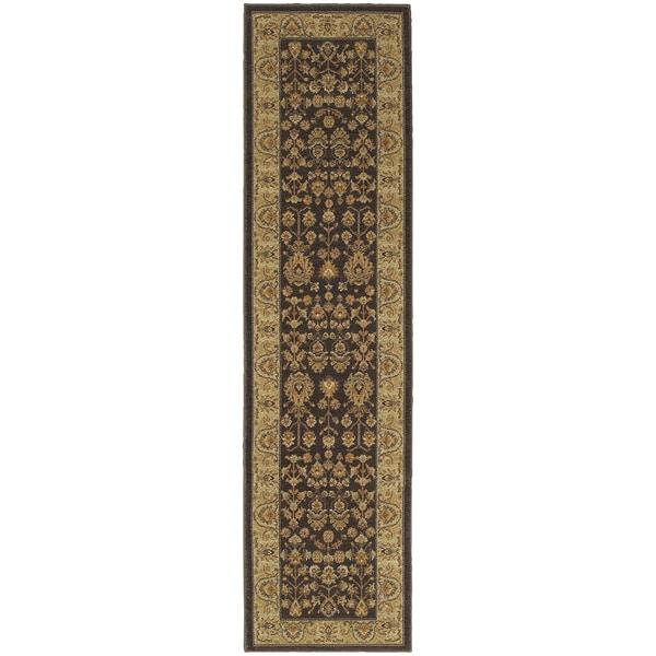 Style Haven Traditional Borders Indoor/Outdoor Runner Rug (1'10 x 7'6)