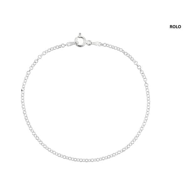 Thin Sterling Silver Uni Bracelets
