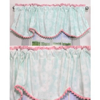Nurture Butterfly Wings Valances, 2 Window Saver Pack