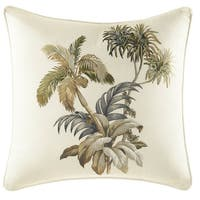 Tommy Bahama Nador Embroidered Throw Pillow