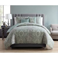 VCNY Home Victoria 5-piece Reversible Comforter Set