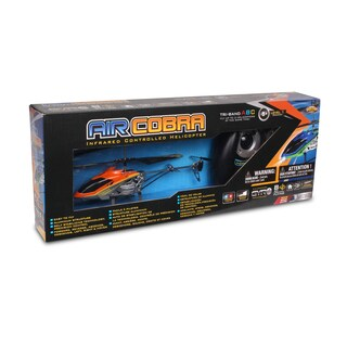 NKOK Air Banditz 3.5CH IR/USB Air Cobra Remote Control Toy - Colors Vary