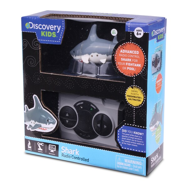 NKOK Discovery Kids RC Rechargeable Shark Remote Control Toy