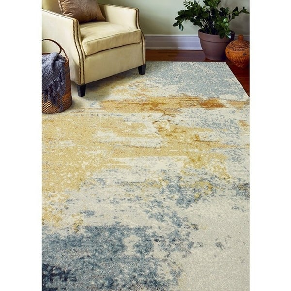 Alba Contemporary Machine Made Area Rug. Opens flyout.