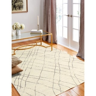 Almira Ivory/ Silver Area Rug (8'6x11'6)