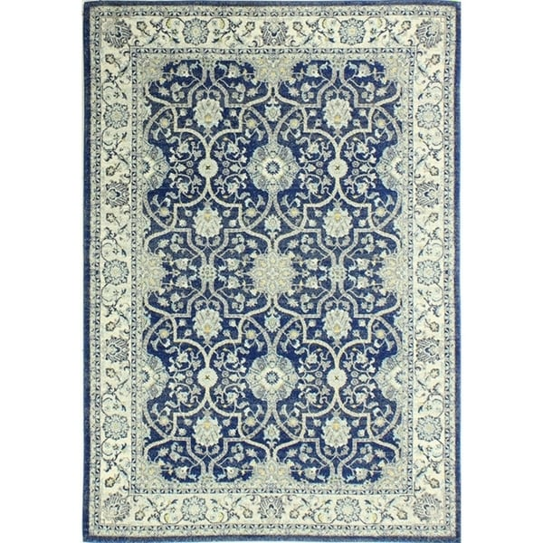 Angelina Blue Area Rug (7'6 x 9'6)