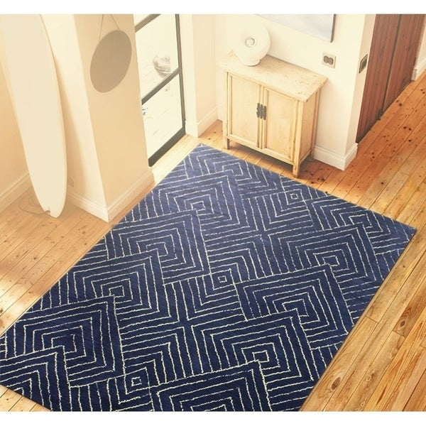 Bancroft Transitional Hand Tufted Area Rug. Opens flyout.