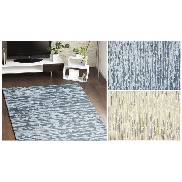 Charlotte Abstract Area Rug (8'6 x 11'6)