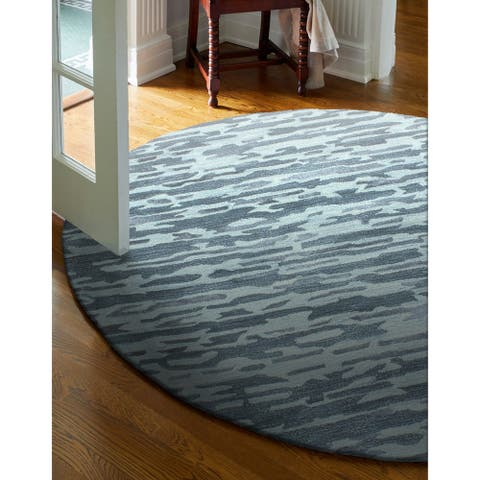 Charlotte Contemporary Hand Tufted Area Rug