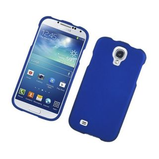 Insten Blue Hard Snap-on Rubberized Matte Case Cover For Samsung Galaxy S4 GT-i9500