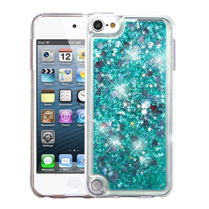 Insten Green Quicksand Hard Snap-on Glitter Case Cover Fo...