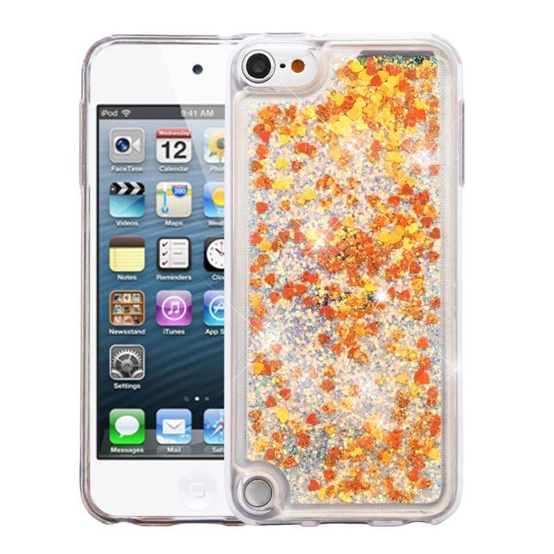Insten Gold Quicksand Hard Snap-on Glitter Case Cover For...
