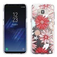 Insten Multi-Color Spring Daisies TPU Rubber Candy Skin Case Cover For Samsung Galaxy S8 Plus S8+