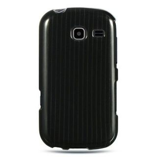 Insten Black Hard Snap-on Rubberized Matte Case Cover For Samsung Freeform III R380