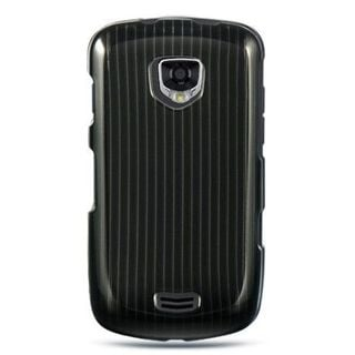 Insten Black Hard Snap-on Rubberized Matte Case Cover For Samsung Droid Charge I510