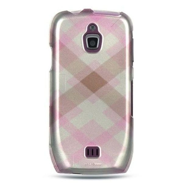 Insten Pink Hard Snap-on Rubberized Matte Case Cover For Samsung Exhibit 4G T759