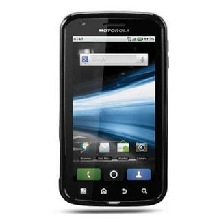 Insten Black Hard Snap-on Rubberized Matte Case Cover For Motorola Atrix 4G MB860