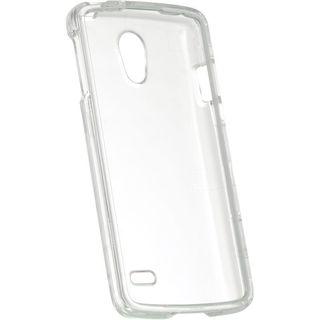 Insten Clear Hard Snap-on Rubberized Matte Case Cover For LG Lucid 3 VS876