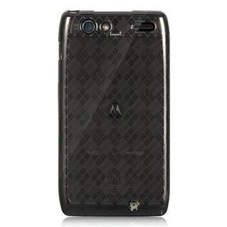Insten Smoke Hard Snap-on Rubberized Matte Case Cover For Motorola Droid Razr Maxx
