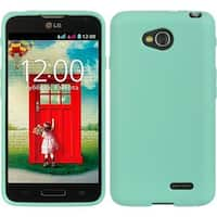 Insten Teal Hard Snap-on Rubberized Matte Case Cover For LG L70