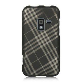 Insten Black Hard Snap-on Rubberized Matte Case Cover For Samsung Galaxy Attain 4G SCH-R920