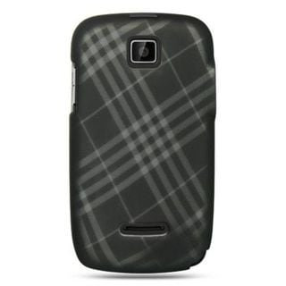 Insten Black Hard Snap-on Rubberized Matte Case Cover For Motorola Theory WX430