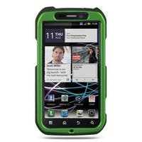 Insten Green Hard Snap-on Rubberized Matte Case Cover For Motorola Photon 4G MB855