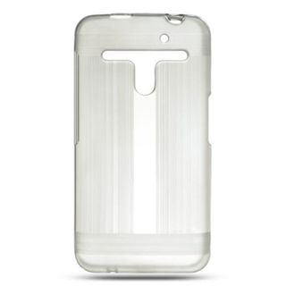 Insten Clear Hard Snap-on Rubberized Matte Case Cover For LG Esteem MS910/Revolution VS910