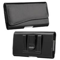 Insten Black Leather Case Cover For HTC One M7