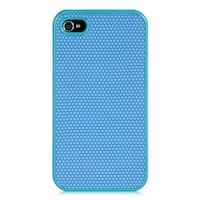 Insten Blue Hard Snap-on Rhinestone Bling Case Cover For Apple iPhone 4/4S