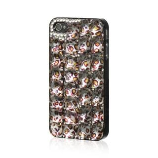 Insten Brown/Black Leopard Hard Snap-on Rubberized Matte Case Cover For Apple iPhone 4/4S